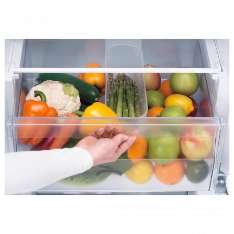 Встраив холодильник/морозильник А+ РОКЭЛЛ белый фото 1