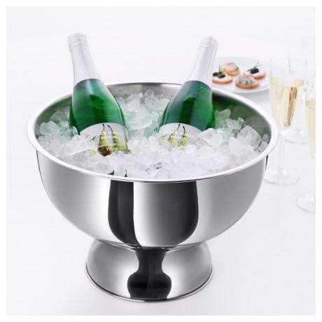 Ведро для вина/шампанского РОЛИГТ серебристый фото 1