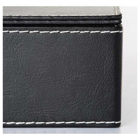 Коробка д/документов, 3 шт. РИССЛА черный фото 2