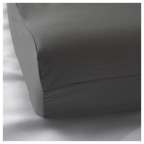 Наволочка д/подушки(ппу/эфф памяти) РОЛЛЕКА серый фото 1