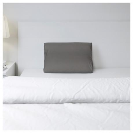 Наволочка д/подушки(ппу/эфф памяти) РОЛЛЕКА серый фото 2