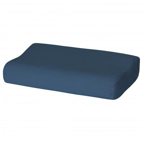 Наволочка д/подушки(ппу/эфф памяти) РОЛЛЕКА темно-синий фото 0