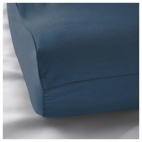 Наволочка д/подушки(ппу/эфф памяти) РОЛЛЕКА темно-синий фото 1