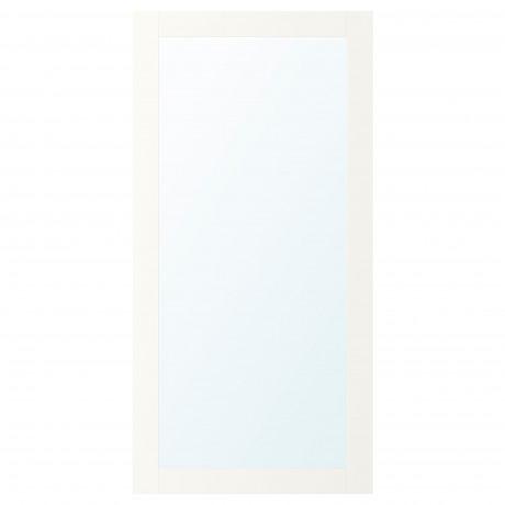 Зеркальная дверь РИДАБУ белый фото 0
