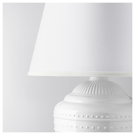Лампа настольная РИККАРУМ белый фото 1