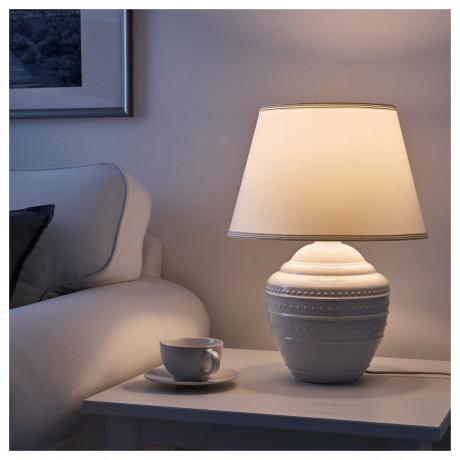 Лампа настольная РИККАРУМ белый фото 2