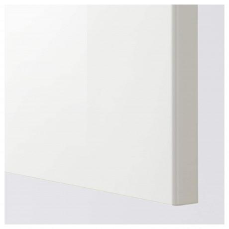 Дверь РИНГУЛЬТ глянцевый белый фото 1