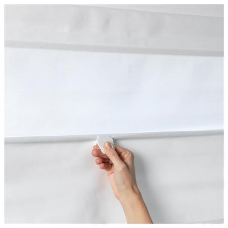 Римская штора РИНГБЛУММА белый фото 1