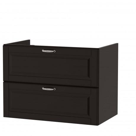 Шкаф для раковины с 2 ящ ГОДМОРГОН Кашён светло-серый фото 0