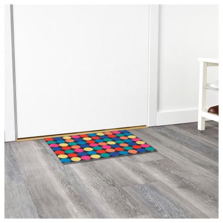 Придверный коврик РОРСЛЕВ разноцветный фото 1
