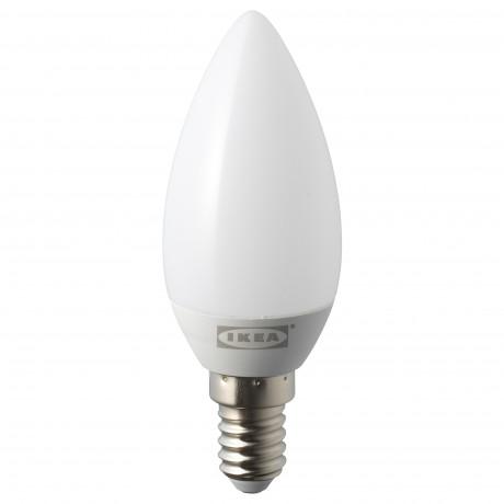 Светодиод E14 200 лм РИЭТ свечеобразный молочный фото 0