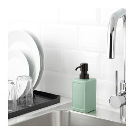 Дозатор для жидкого мыла РИННИГ зеленый фото 1