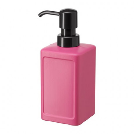 Дозатор для жидкого мыла РИННИГ розовый фото 0
