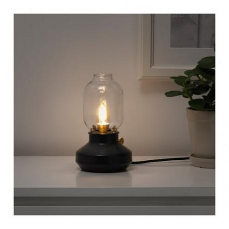Светодиод E14 140 лм РОЛЛЬСБУ регулируемая яркость, свечеобразный коричневый, прозрачное стекло фото 1