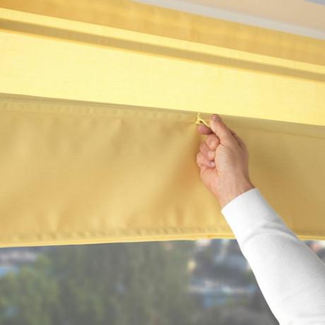 Римская штора РИНГБЛУММА желтый фото 1