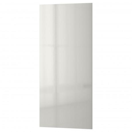 Накладная панель РИНГУЛЬТ глянцевый светло-серый фото 3