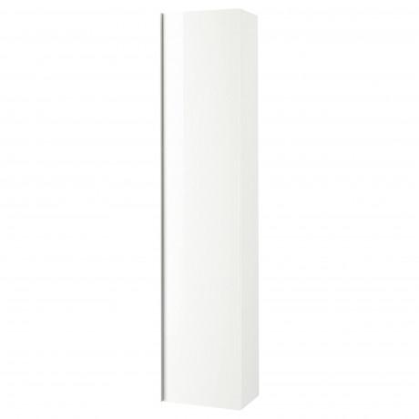 Шкаф высокий ГОДМОРГОН белый фото 3